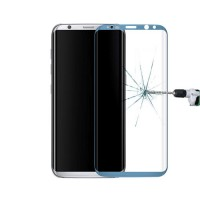 Screen Protector Tempered Glass Curved Samsung Galaxy S8 Plus Blue