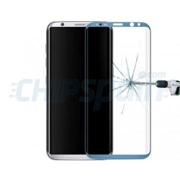 Protetor de tela Vidro Temperado Curvo Samsung Galaxy S8 Plus Azul