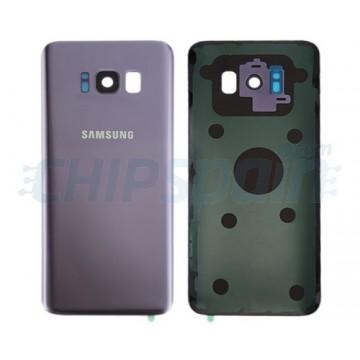 Tapa Trasera Batería Samsung Galaxy S8 Plus G955F Gris Orquídea