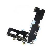 Cable Flex Conector Carga Audio y Micrófono iPhone 7 Negro