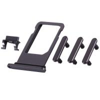 Botões Pack + PortaSIM iPhone 8 Plus Cinzento