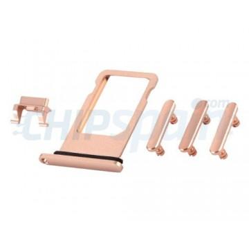 Buttons Pack + PortaSIM iPhone 8 Plus Gold