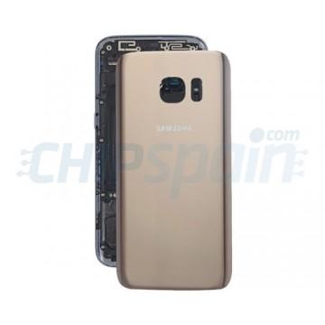 Tapa Trasera Batería Samsung Galaxy S7 G930F Oro