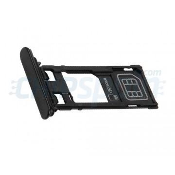 SIM & Micro SD Card Tray for Sony Xperia XZ Black