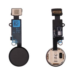Botón Home Completo con Flex iPhone 8 Plus Negro