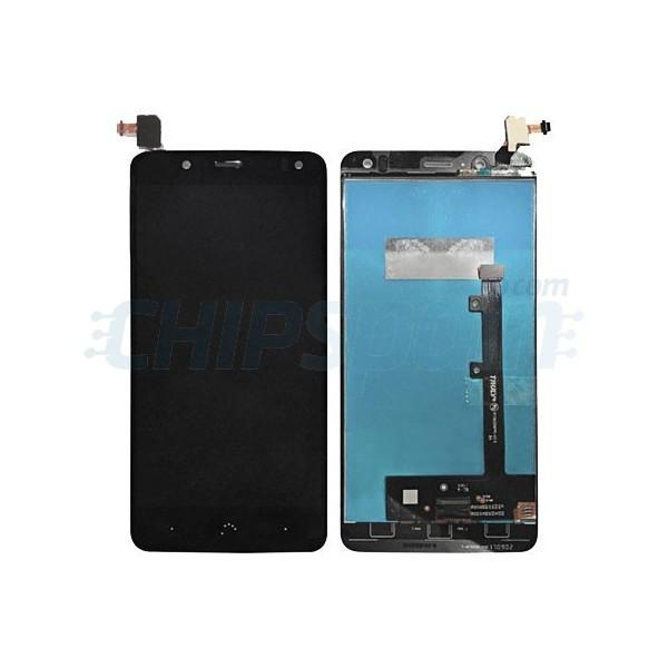 Color : Black HTTX TENS AYSMG LCD Screen and Digitizer Full Assembly for BQ Aquaris V Plus Black