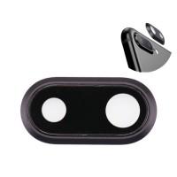 Lente da Câmera Traseira iPhone 8 Plus Preto