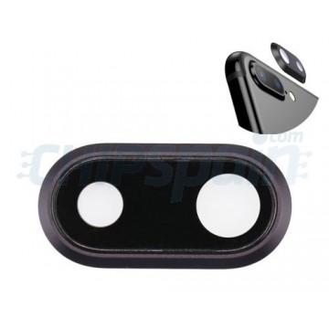Lente de Cámara Trasera iPhone 8 Plus Negro