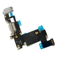 Cable Audio/Dock/Antena/Mic para iPhone 6S Plus Cinza