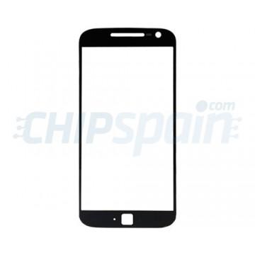 Exterior Glass Motorola Moto G4 Plus Black