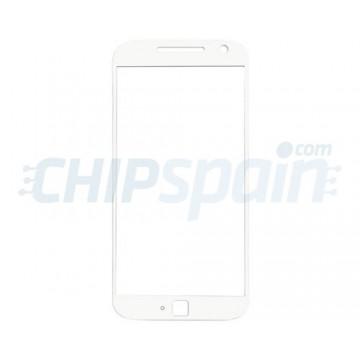 Cristal Exterior Motorola Moto G4 Plus Blanco