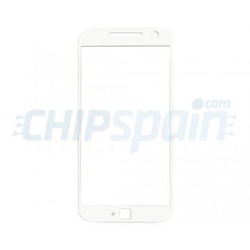 Exterior Glass Motorola Moto G4 Plus White