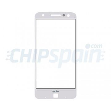 Exterior Glass Motorola Moto Z White