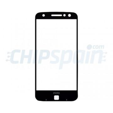 Cristal Exterior Motorola Moto Z Negro
