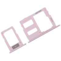 Bandeja Tarjetas SIM y Micro SD Samsung Galaxy J3 J5 J7 2017 Rosa