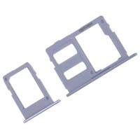 Bandeja Tarjetas SIM y Micro SD Samsung Galaxy J3 J5 J7 2017 Azul