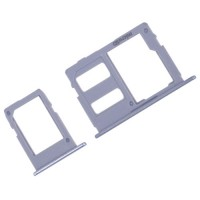 Tabuleiro para cartão SIM e Micro SD Samsung Galaxy J3 J5 J7 2017 Azul
