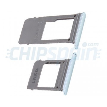 SIM & Micro SD Card Tray for Samsung Galaxy A5 A7 2017 Blue