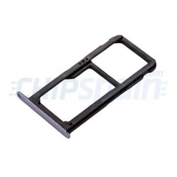 SIM Card Tray and Micro SD Card Tray Huawei P10 Lite Black Grey