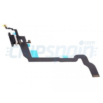 Cable Flex Conector Carga y Micrófono iPhone X Negro