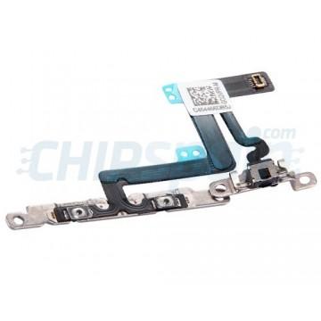 Flex com botões de Volume e Mute iPhone 6 Plus com Pedaço de Metal