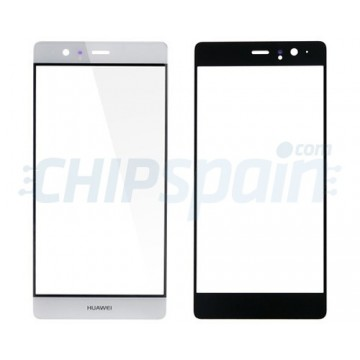 Front Screen Outer Glass Lens for Huawei P9 Plus White