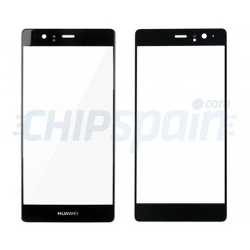 Front Screen Outer Glass Lens for Huawei P9 Plus Black