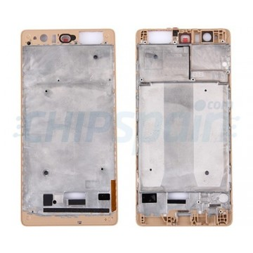 Front Frame LCD Screen Huawei P9 Plus Gold