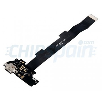 Connector Flex Carregamento e Microfone Xiaomi Mi 5S Plus