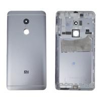 Tapa Trasera Batería Xiaomi Redmi Note 4 Gris