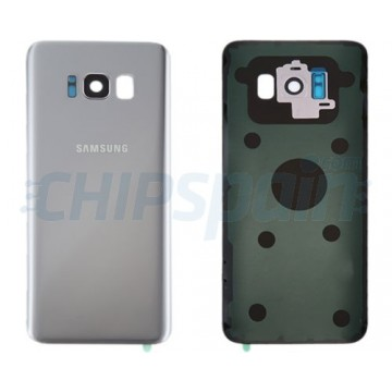 Tampa Traseira Bateria Samsung Galaxy S8 Plus G955F Prata