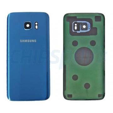 Tampa Traseira Bateria Samsung Galaxy S7 Edge G935F Azul