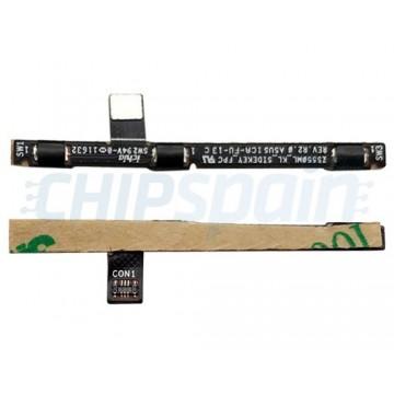 Flex de Ligar, Desligar e Volume Asus Zenfone 3 Deluxe ZS550KL