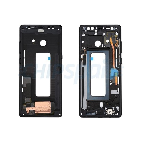 Samsung Note 8 Screen Galaxy Front Frame Black N950