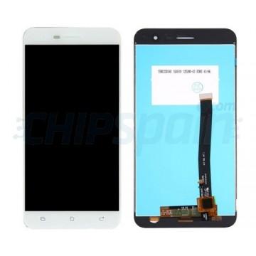 "Ecrã Tátil Completo Asus Zenfone 3 ZE520KL 5.2"" Branco"