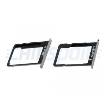 Tabuleiro para cartão SIM e Micro SD Huawei Mate 7 Cinzento