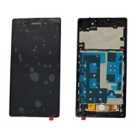 Pantalla Completa con Marco Sony Xperia Z1 - Negro