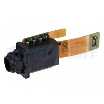 Flex com conector Jack de áudio Sony Xperia XZ1 G8341 G8342