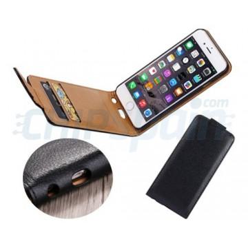 Funda Piel iPhone 6 Plus / iPhone 6s Plus Negro