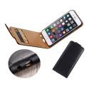 Leather case iPhone 6 Plus / iPhone 6s Plus Black