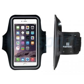 Jogging e pulseira smartphone esporte