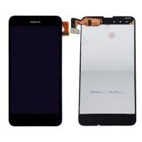 Tela Cheia com Moldura Nokia Lumia 630/635 -Preto