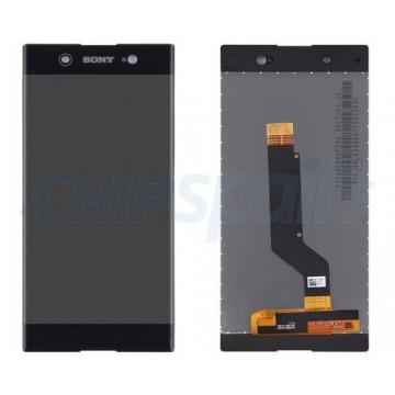 Ecrã Tátil Completo Sony Xperia XA1 Ultra G3221 G3212 Preto