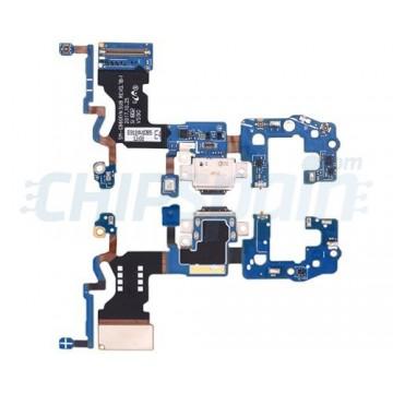 Connector Flex Carregamento e Microfone Samsung Galaxy S9 G960F
