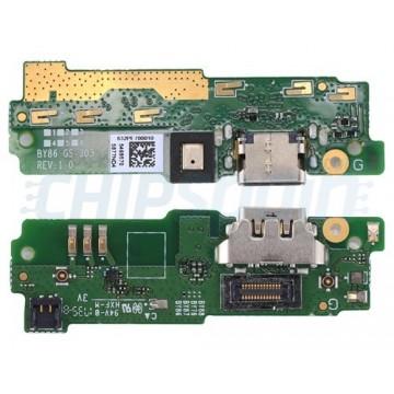 Charging Port Board and Microphone Sony Xperia XA1 Ultra G3221 G3212