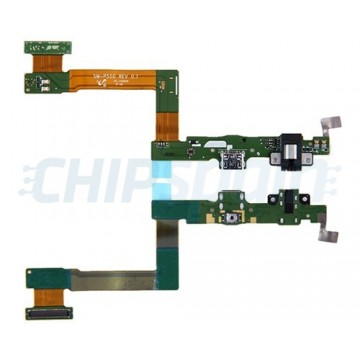 "Connector Flex Carregamento e Audio Jack Samsung Galaxy Tab A P550 (9.7"")"