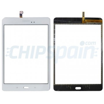 "Vidro Digitalizador Táctil Samsung Galaxy Tab A T350 (8"") Branco"