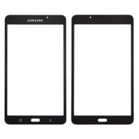 """Front Screen Outer Glass Lens for Samsung Galaxy Tab A T280 T285 (7"""") (2016) Black"""