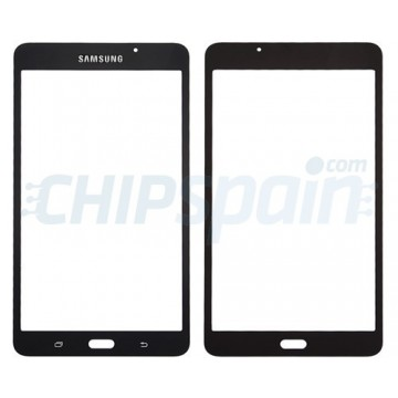 "Front Screen Outer Glass Lens for Samsung Galaxy Tab A T280 T285 (7"") (2016) Black"