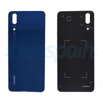 Tapa Trasera Batería Huawei P20 Azul